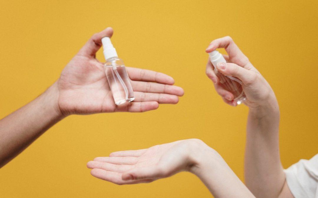 Tu Perfume SÍ PUEDE DESINFECTAR