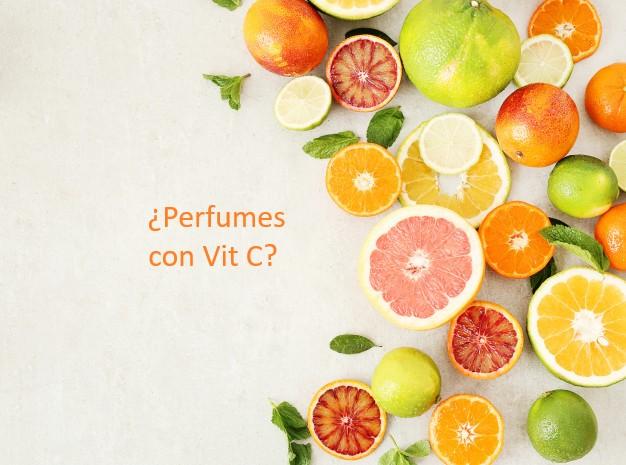 ¿Tienen los perfumes vitamina C?
